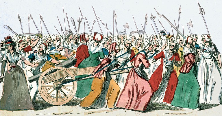 Anonymous - Women's March on Versailles, 5-6 october 1789 (1789) │© Anonymous / WikiCommons