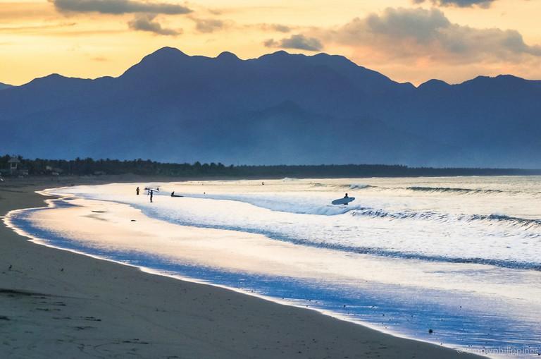 Sabang Beach, Baler