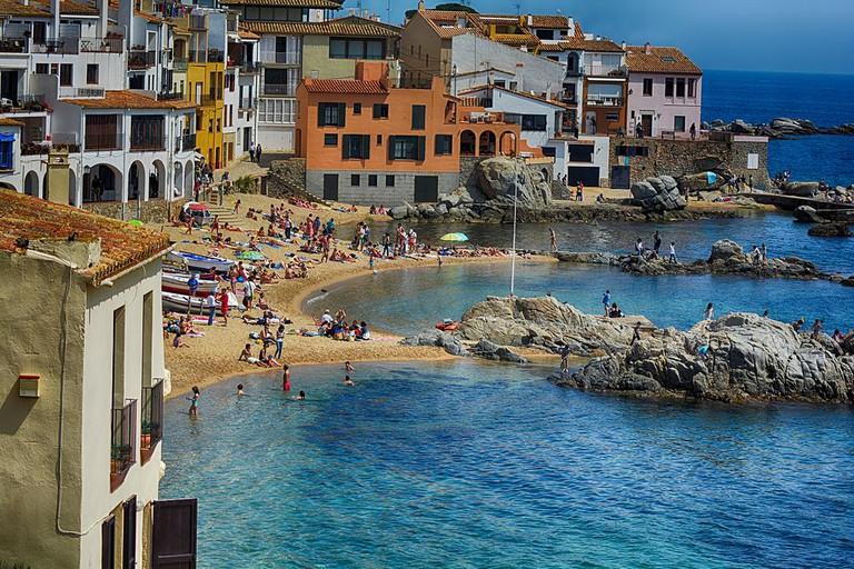 Palafrugell, Spain | ©Felipoween / Wikimedia Commons