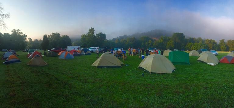 Campsite │© david mcbee / Pexels