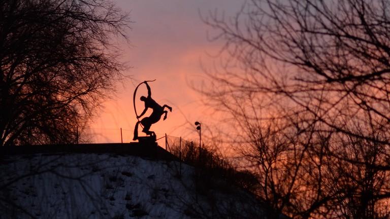 Stockholm sculpture