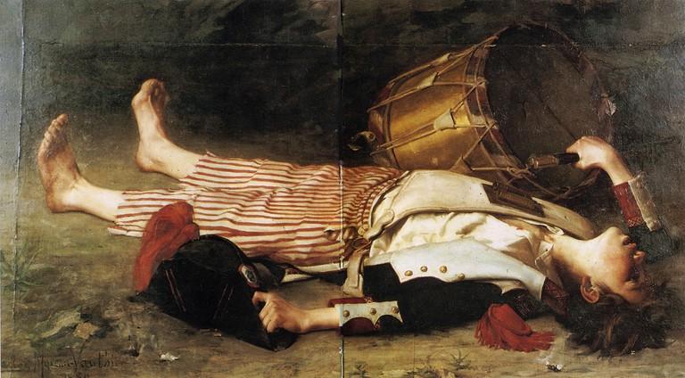 Charles Moreau-Vauthier – Mort de Joseph Bara │