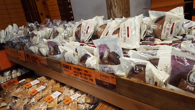 The famous choco pies of PNB Bakery