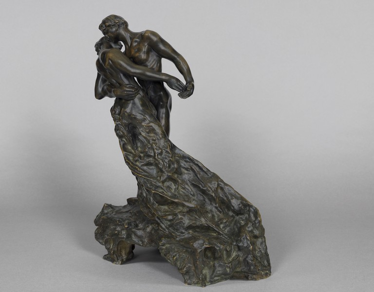 The Waltz, 1889-1905 bronze by Camille Claudel