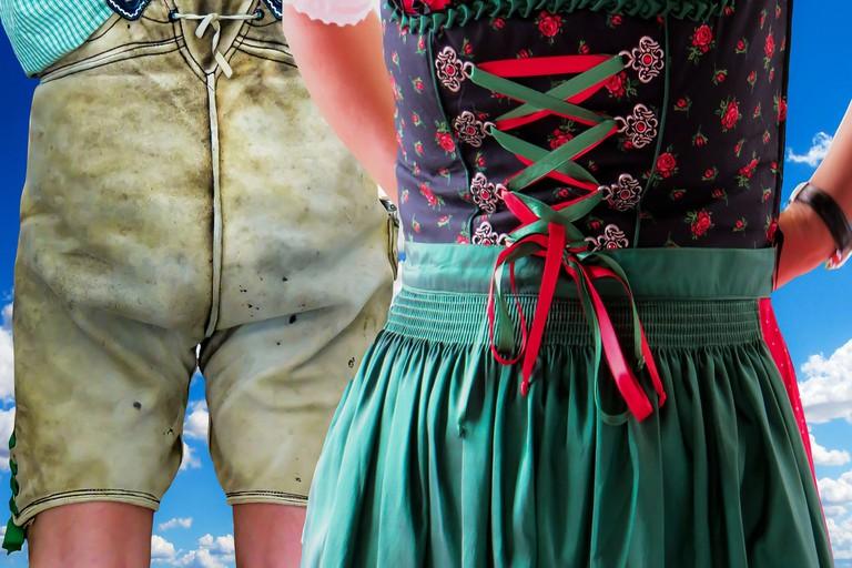 Traditional Austrian attire
