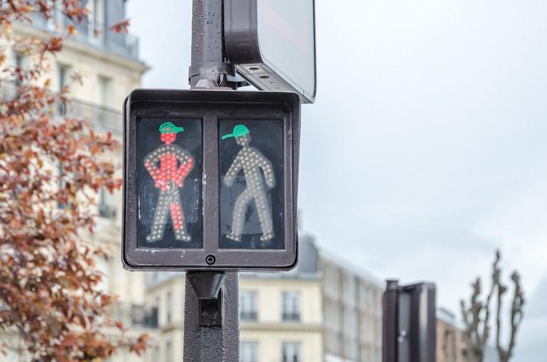 Crossing in Paris │© Alexander Kachkaev / Flickr