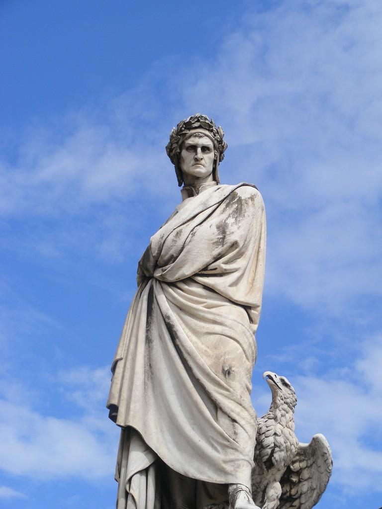 Dante Alighieri, Santa Croce, Florence