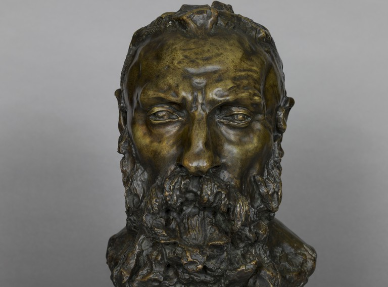 Auguste Rodin, 1888-1898 bronze by Camille Claudel