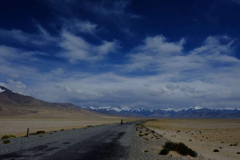 Desert by Lake Karakul, Tajikistan