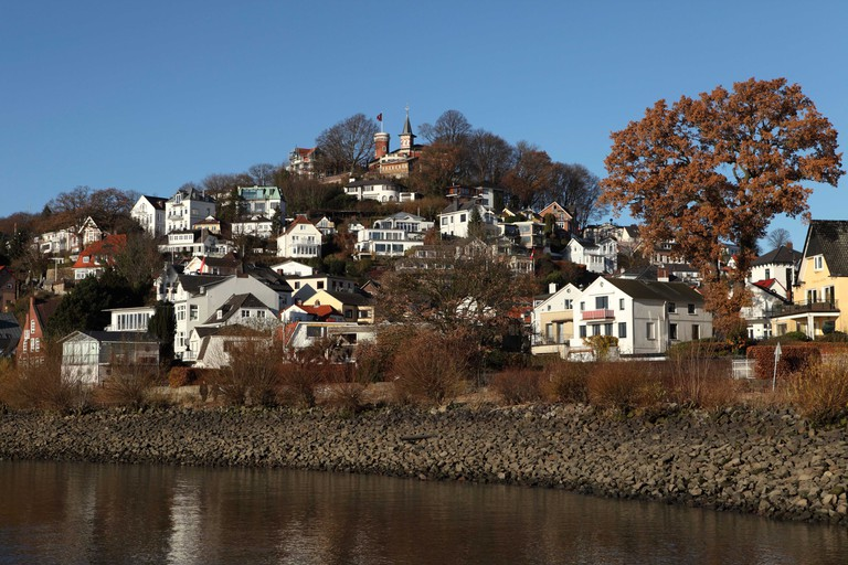Blankenese, Hamburg, Germany.