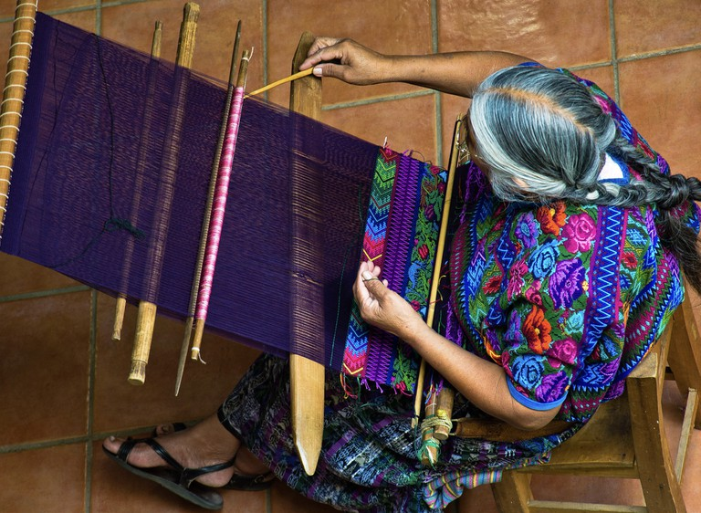 Woven traditional wear |© Guillen Perez/ flickr