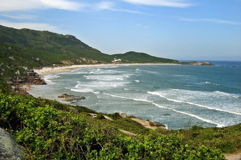Praia Galheta /