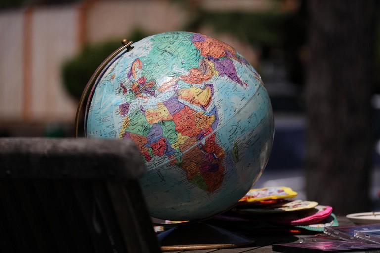Globe | © Andrew Smith/ Flickr