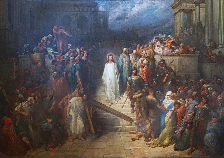 Christ leaving the Praetorium by Gustave Doré, oil on canvas