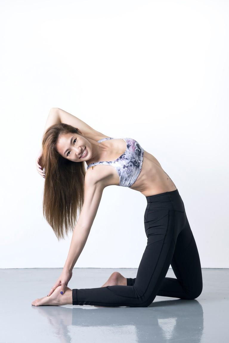 Jasmine Chong from Yoga Lab