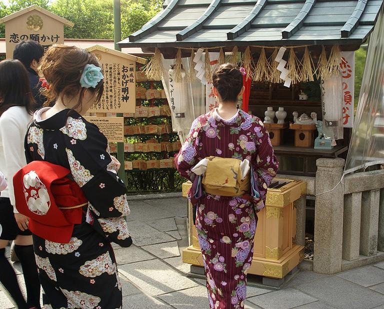 Jishu Shrine at Kiyomizu-dera