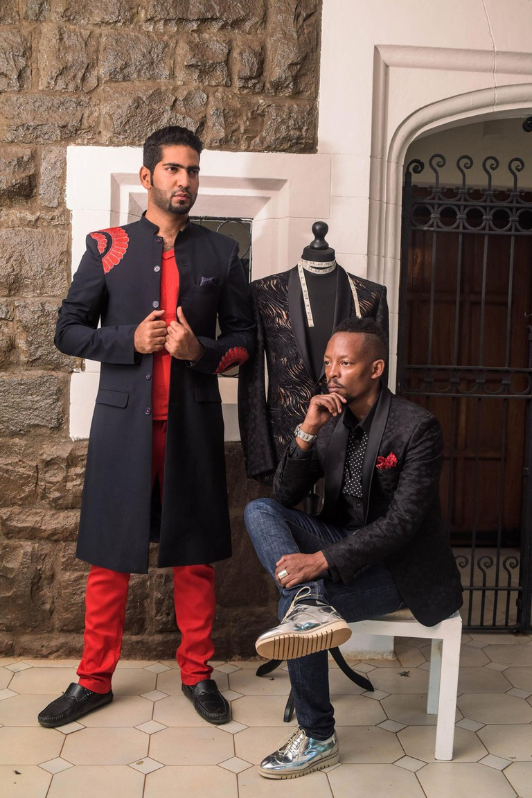 John Kaveke's Raw Attitude Collection New York Fashion Week | Courtesy of Chef Ali Mahindry