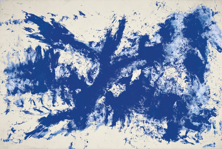 Large Blue Anthropometry [Ant 105] by Yves Klein | Guggenheim Museum Bilbao