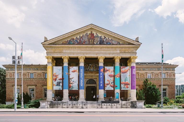 Budapest Kunsthalle exterior