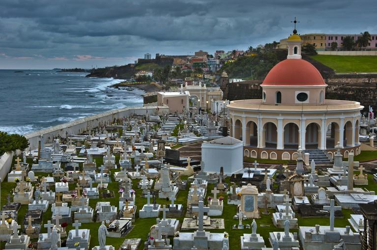 La Perla behind Old San Juan Cemetery