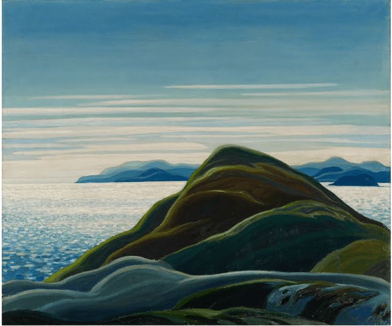 1)North Shore, Lake Superior (1927) by Franklin Carmichael | Courtesy Google Art Project