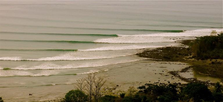 Low tide lines/Aerial Media Costa Rica