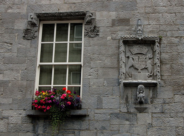 Lynch' Castle wall in Galway | © Wolfgang Glock/WikiCommons