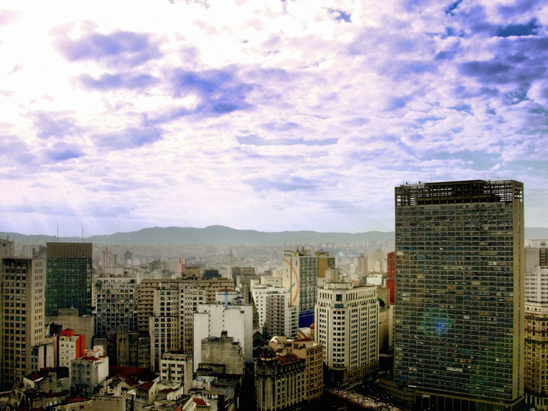 View from top of Martinelli building © Alexandre Hamada Possi /Flickr