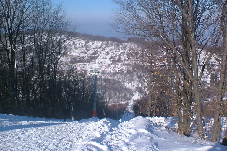 Skiing at Matraszentistvan