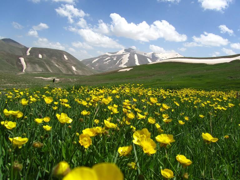 Sahand Mountains | © Mehrdad Sarhangi / Wikimedia Commons