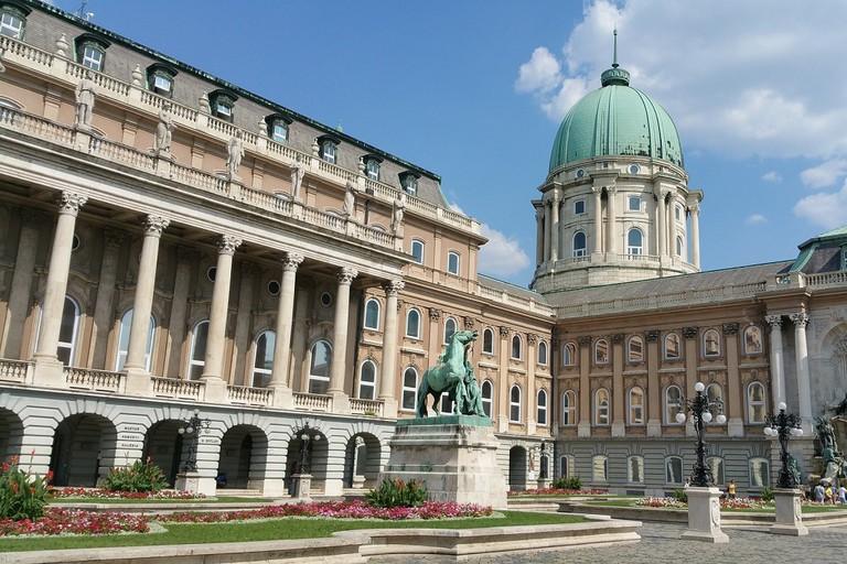 Hungarian National Gallery exterior