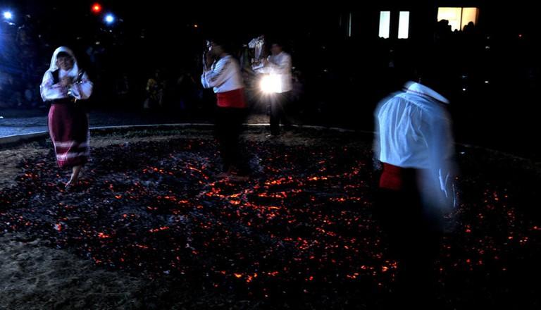 Firewalking in Balgari village I