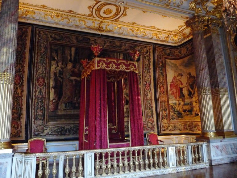 The King's Chamber at the Palais Rohan