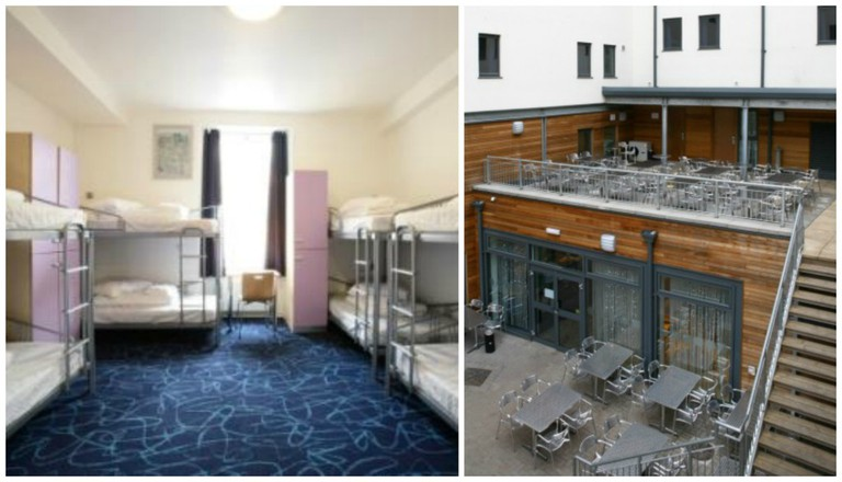 Smart City Hostels Room | © Smart City Hostels/Flickr // Rooftop Terrace | © Smart City Hostels/Flickr