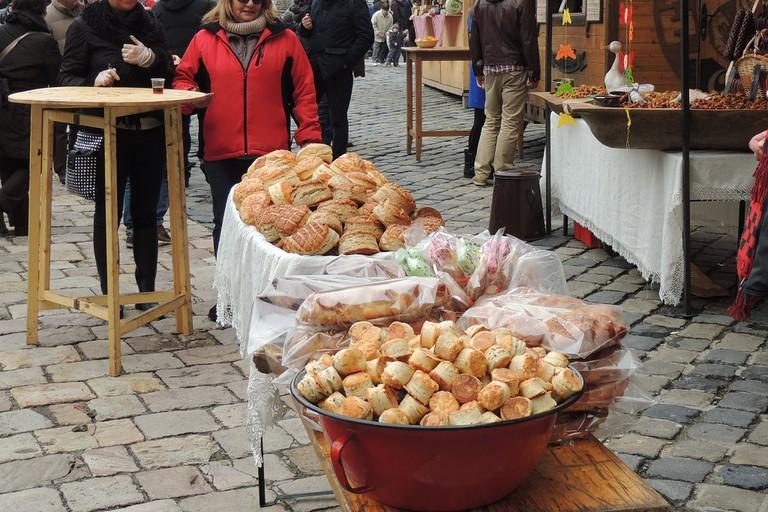 Pogácsa snack Budapest