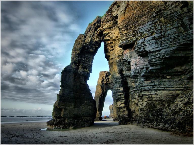 Praia As Catedrais, Galicia, Spain | ©Jose Luis Cernadas Iglesias / Flickr