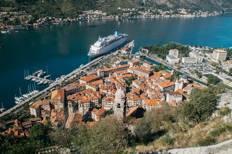 Kotor from San Giovanni Fortress