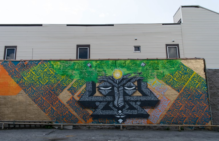 Resilience of the Soul Mural Rochester, NY | Courtesy of Wisetwo