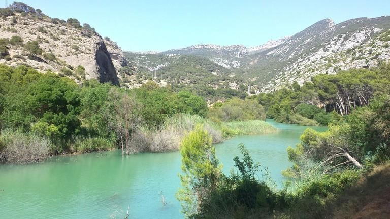 Part of the Caminito takes you through the stunning landscape of El Chorro, Málaga