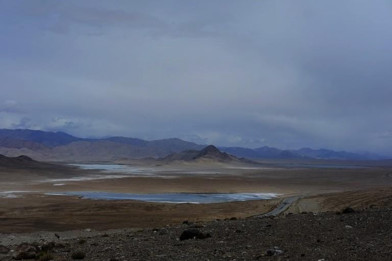 Salt Lakes by Alichur, Tajikistan I © Fergus Brooks