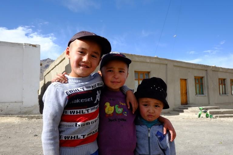 Kids in Murghab, Tajikistan