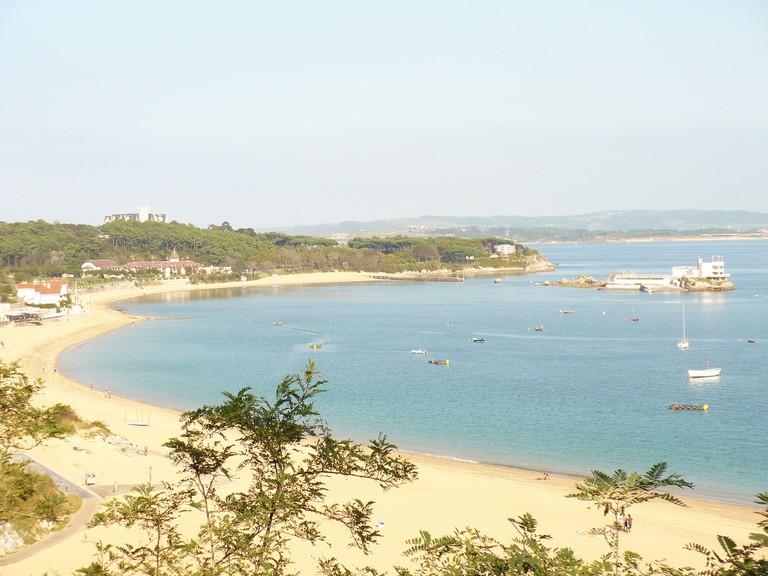 Playa de la Magdalena, Santander, Spain