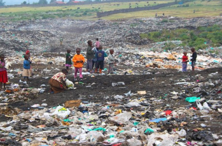 People treating fast fashion as disposable means it ends up in landfill