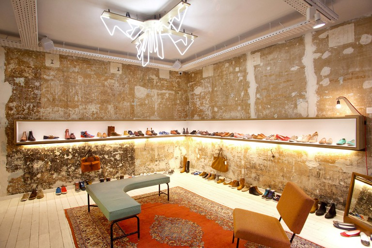 Shoes at Centre Commercial │ Courtesy of Centre Commercial