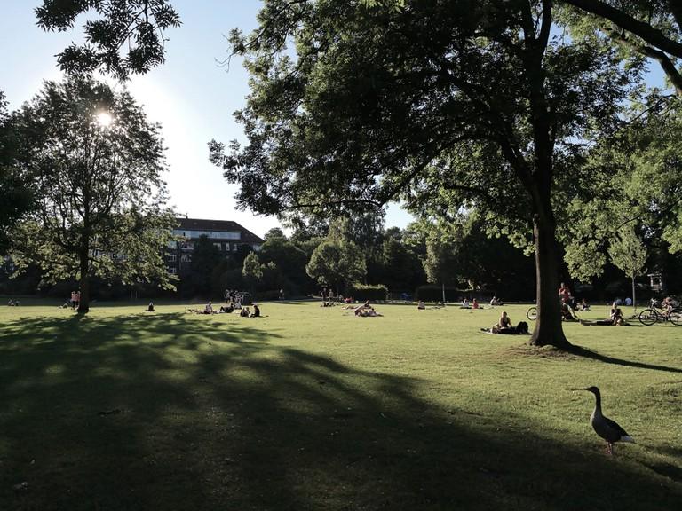 Hayns Park in Eppendorf, Hamburg