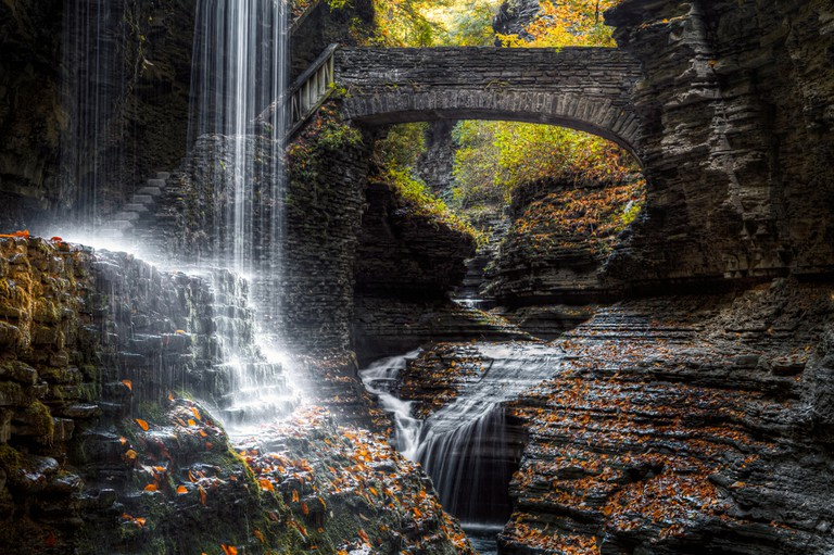 Rainbow Falls, Ithaca, New York