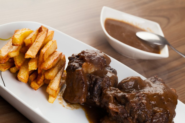 Bull's tail – the star of the show on any menu in Malaga; David M G, shutterstock