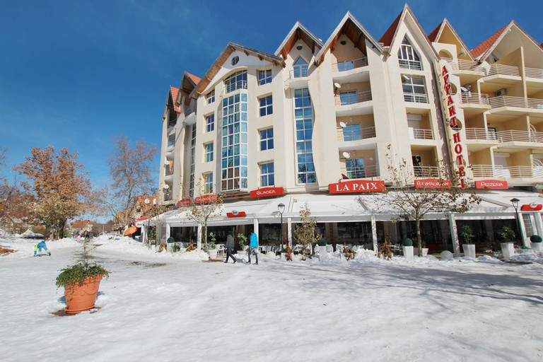 now cover the town of Ifrane Morocco