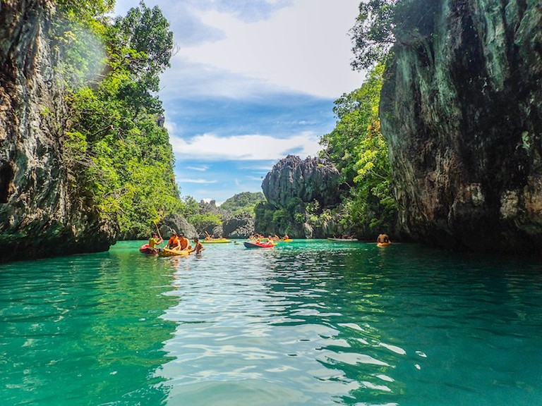 Small Lagoon El Nido | © Kelsey Madison