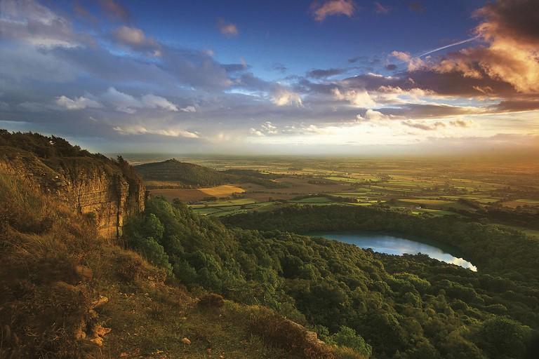 Sutton Bank, North York Moors National Park, Yorkshire